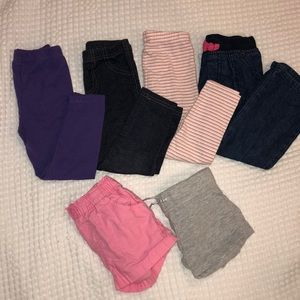 Other - 3T Pants and Shorts Bundle (6 items)
